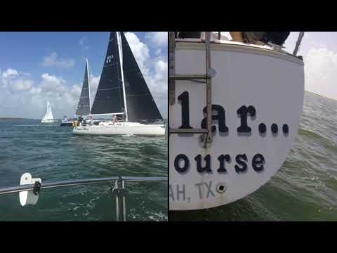 The 2018 GBCA Texas Race Week on the sail boat Stellar Of Co