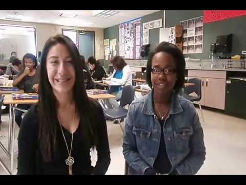 Miss Davis Badger Springs Middle School Moreno Valley California EYC video