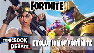 Evolution of Fortnite in 8 Minutes (2018)