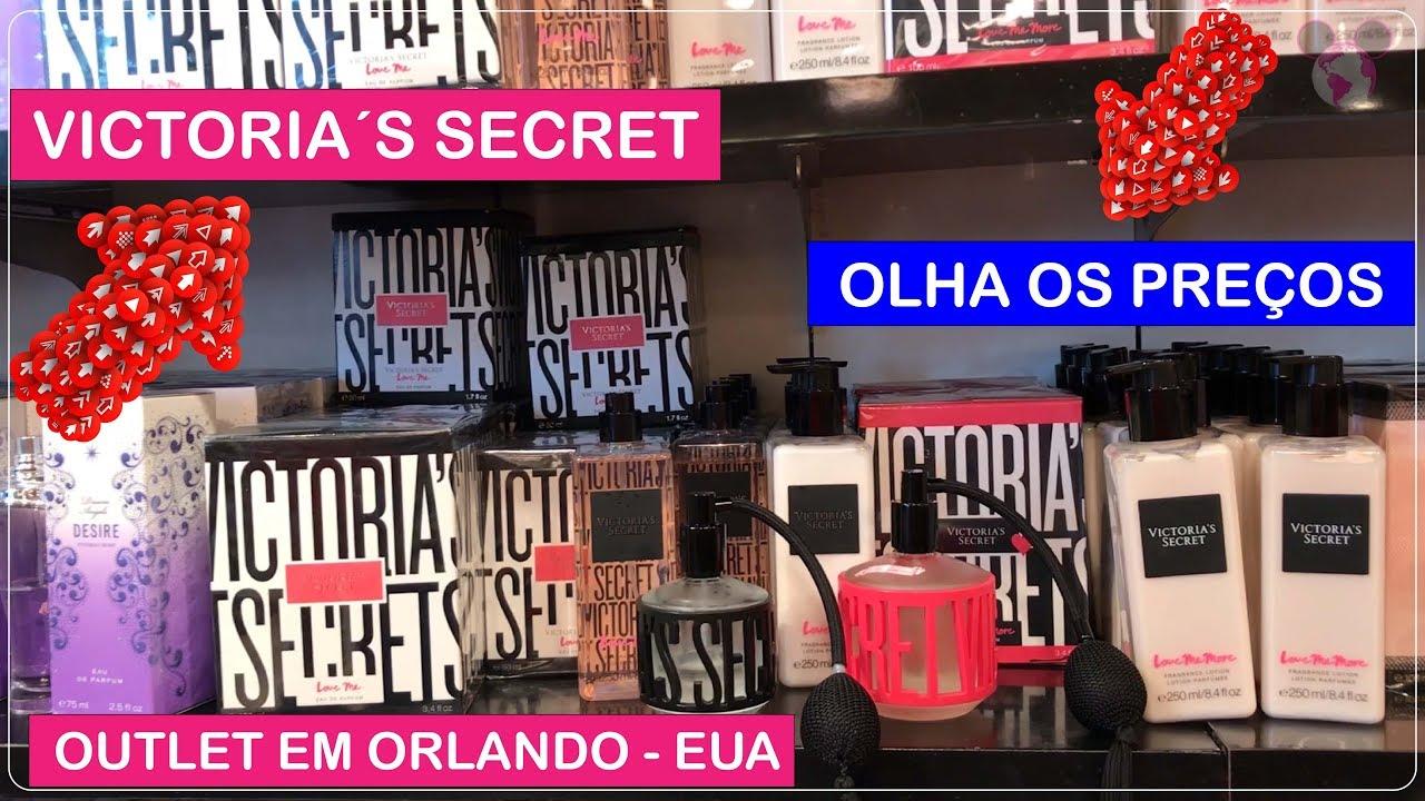 4445d091397 VICTORIA´S SECRET Orlando Premium Outlets com PREÇOS Incríveis no ...