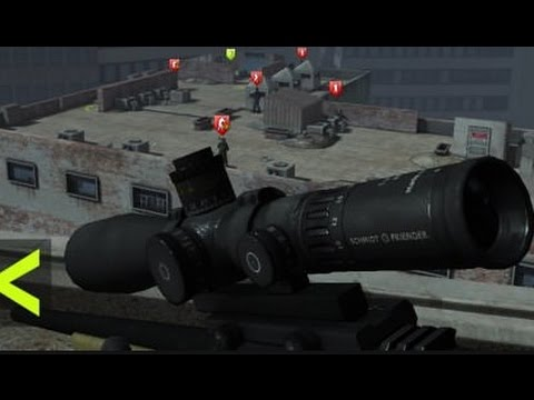 Sniper Tactical - Симулятор снайпера на Android ( Review)
