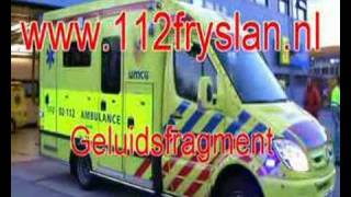 Ambulance 12 geluid