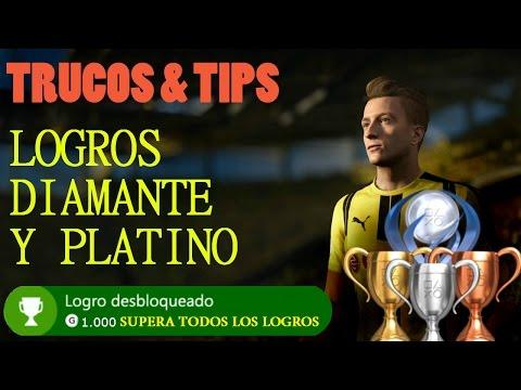 LOGROS, DIAMANTE Y PLATINO EN FIFA 17 - TRUCOS Y TIPS PARA CONSEGUIRLOS * Parte 1