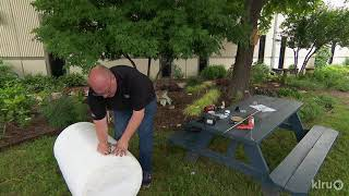 How to Make a Rain Barrel from Food Grade Drums |Daniel  Cunningham |Central Texas Gardener