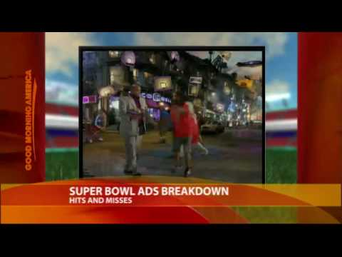 Super Bowl Ads: Hits and Misses