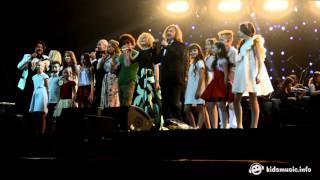 Звёзды и хор Академии популярной музыки Игоря Крутого Ангел хранитель 29 10 2015