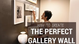 How to Create a Gallery Wall | SIMPLE HACKS