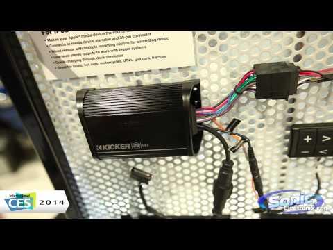 Kicker Power Sports PXiBT50.2 Bluetooth Amplifier | CES 2014
