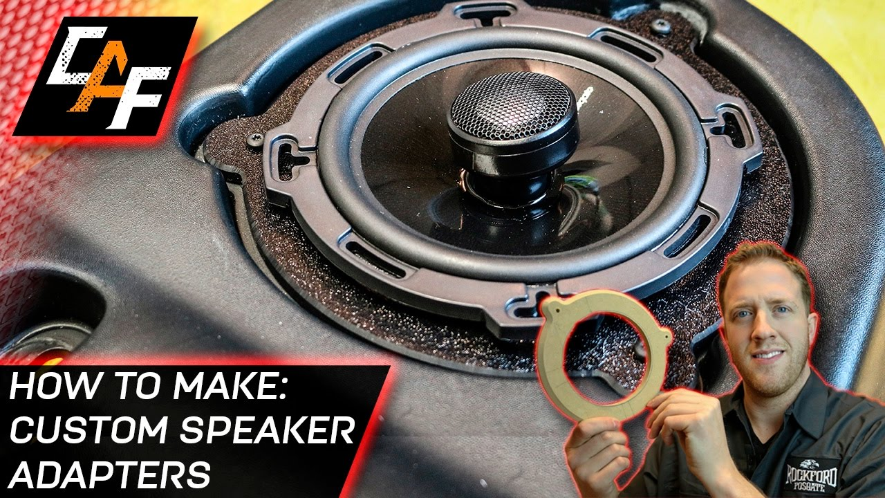 How To Make Speaker Adapter Brackets Abs Plastic