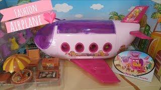 El avión de las muñecas y juguetes | Tic Toc Play