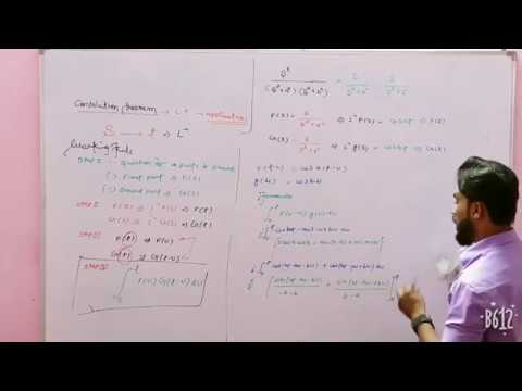 Convolution Theorem for Laplace Transform in Hindi