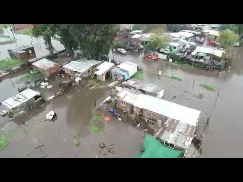 inundacion barrio palermo