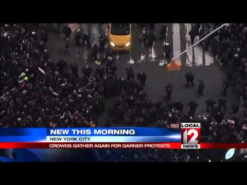 NYC Protests Over George Floyd Death Block Traffic, Reach Trump ...