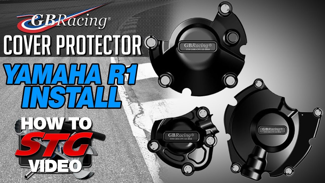 Gb Racing Cover Protector Install On A 15 17 Yamaha Yzf R1