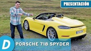 Porsche 718 Spyder | Primera prueba | Review en español | Diariomotor
