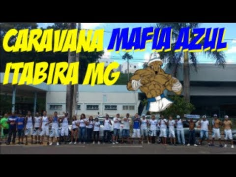 CRUZEIRO(2) X (0) TUPI CAMPEONATO MINEIRO (CARAVANA MAFIA AZUL ITABIRA MG)