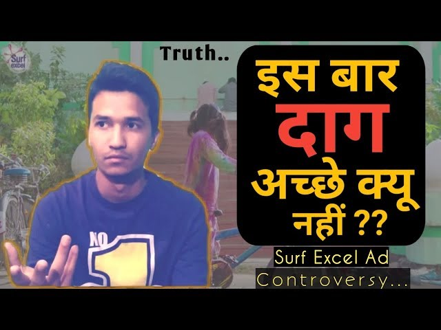 Surf Excel Ad Controversy Truth About Deshbhakti And Hindu Vs Muslim Mentality Ep02 By_Vikash Tiwari