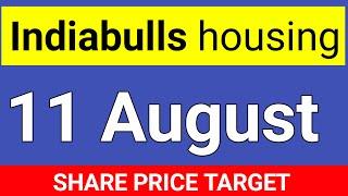 Indiabulls, 11 August SHARE TARGET । Indiabulls housing finance share price target