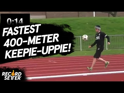 Fastest Keepie uppie