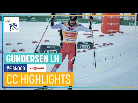 JM. Riiber secured the overall title | Gundersen LH #2 | Trondheim | FIS Nordic Combined
