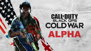 CALL OF DUTY BLACK OPS COLD WAR ALPHA w/ WILDCAT \u0026 Friends!