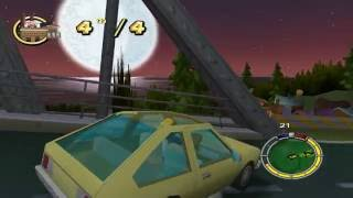The Simpsons Hit & Run - Snake's Day Off Mod Playthrough Failure