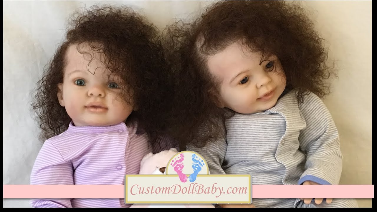 Customdollbaby Com Presents Cadyn Amp Colyn Biracial