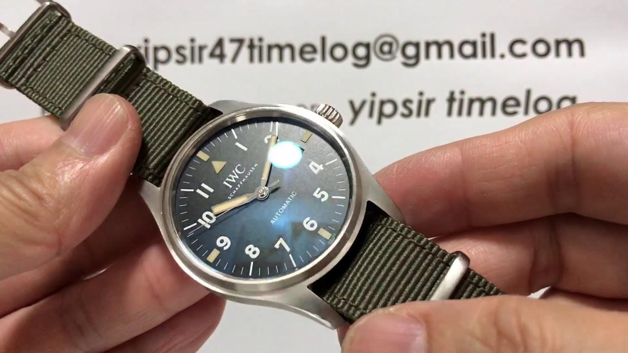 8fb35c400c8 IWC PILOT MARK 11 復刻版(The IWC Pilot s Watch Tribute To Mark XI ...