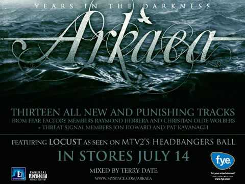 "Arkaea ""Locust"" album available July 14th"
