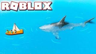 ROBLOX-SHARK ATTACK! -THE REAL KILLER SHARK!!