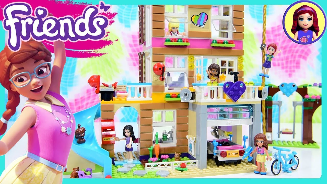 Lego Friends House Tour