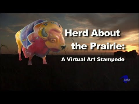 Herd About the Prairie: A Visual Art Stampede