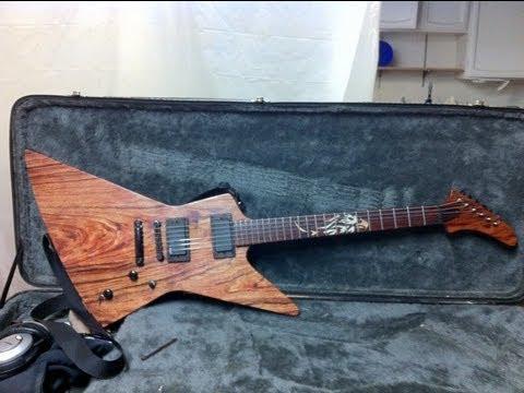 Homemade Guitar - YouTube