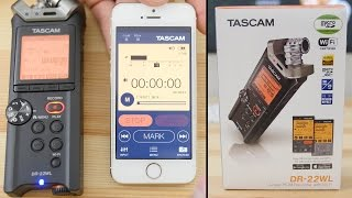 TASCAM DR-22WL Detailed Review - Linear PCM Recorder