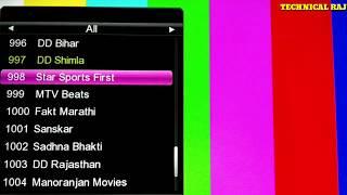 DD Free Dish 3 New Channel Added डीडी फ्री डिश पर 3 नये चैनल जुड़े