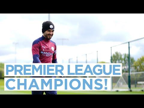 PREMIER LEAGUE CHAMPIONS! | TRAINING
