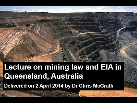 Mining Law Lecture 2014