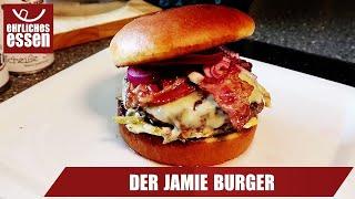 REZEPT: DER JAMIE BURGER - schnell und einfach selber machen!