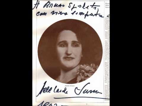 Testimonianza di Adelaide Saraceni su Lauri Volpi (da un'intervista di Bruno Spoleti del 1993)