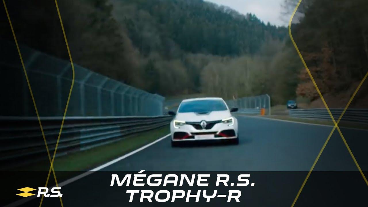 Renault Mégane R.S. Trophy-R 2019 Nürburgring Nordschleife lap record - YouTube