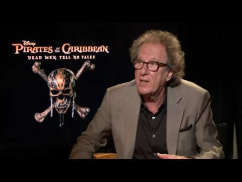 Pirates of the Caribbean 5   Geoffrey Rush