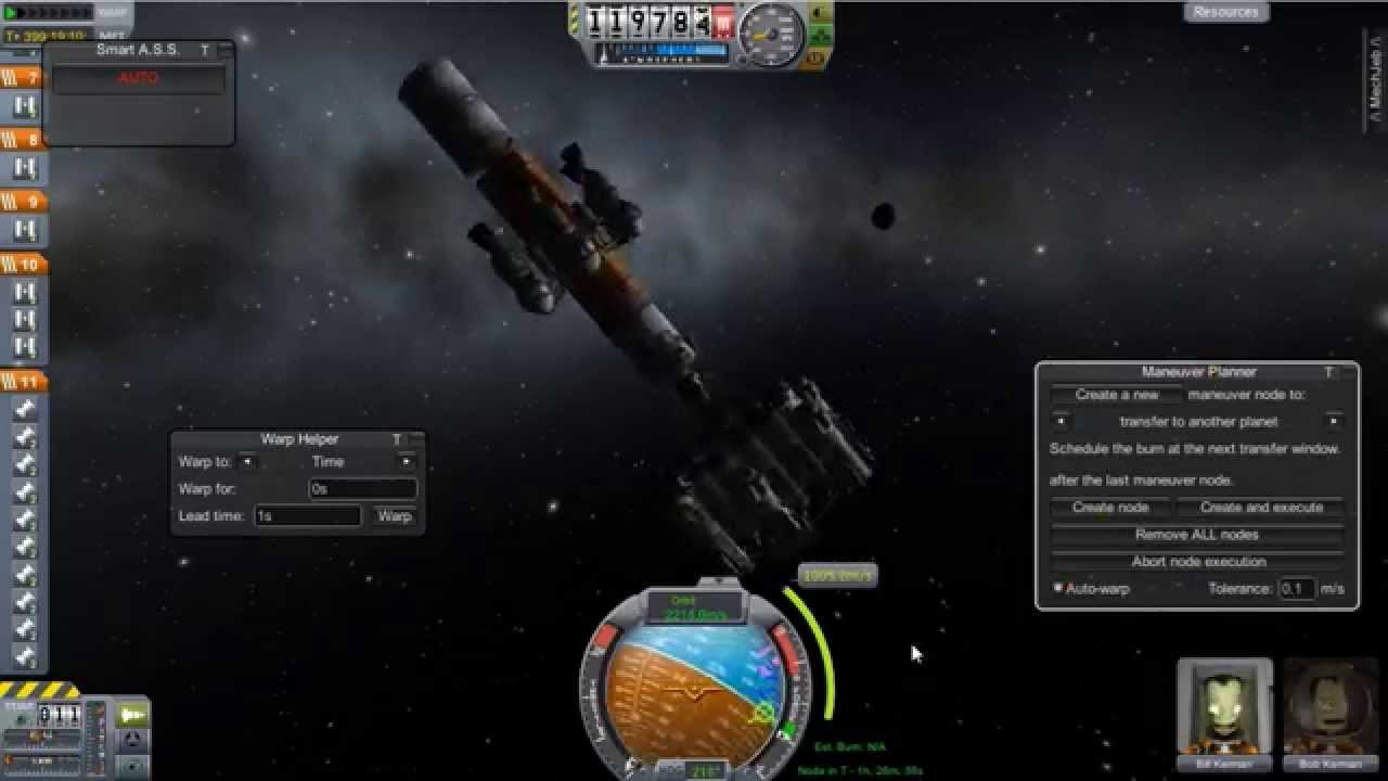 ksp how to open mechjeb