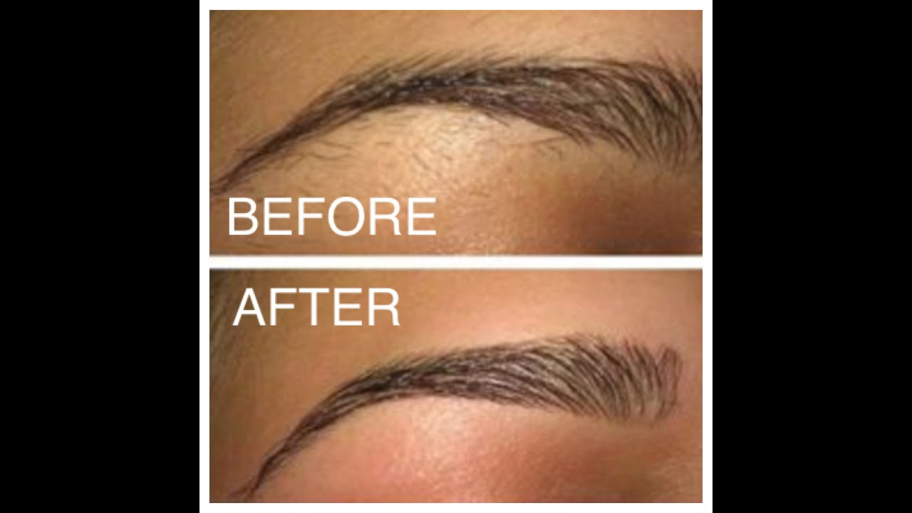 step by step how to wax your own eyebrows youtube