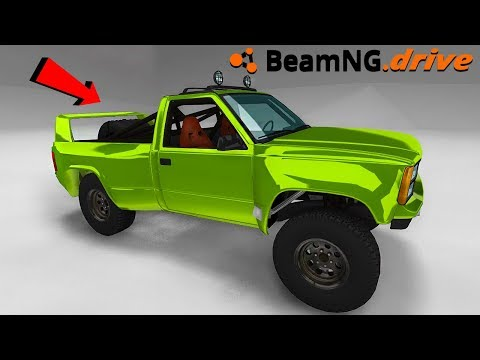BeamNG.drive - TWIN TURBO TROPHY TRUCK