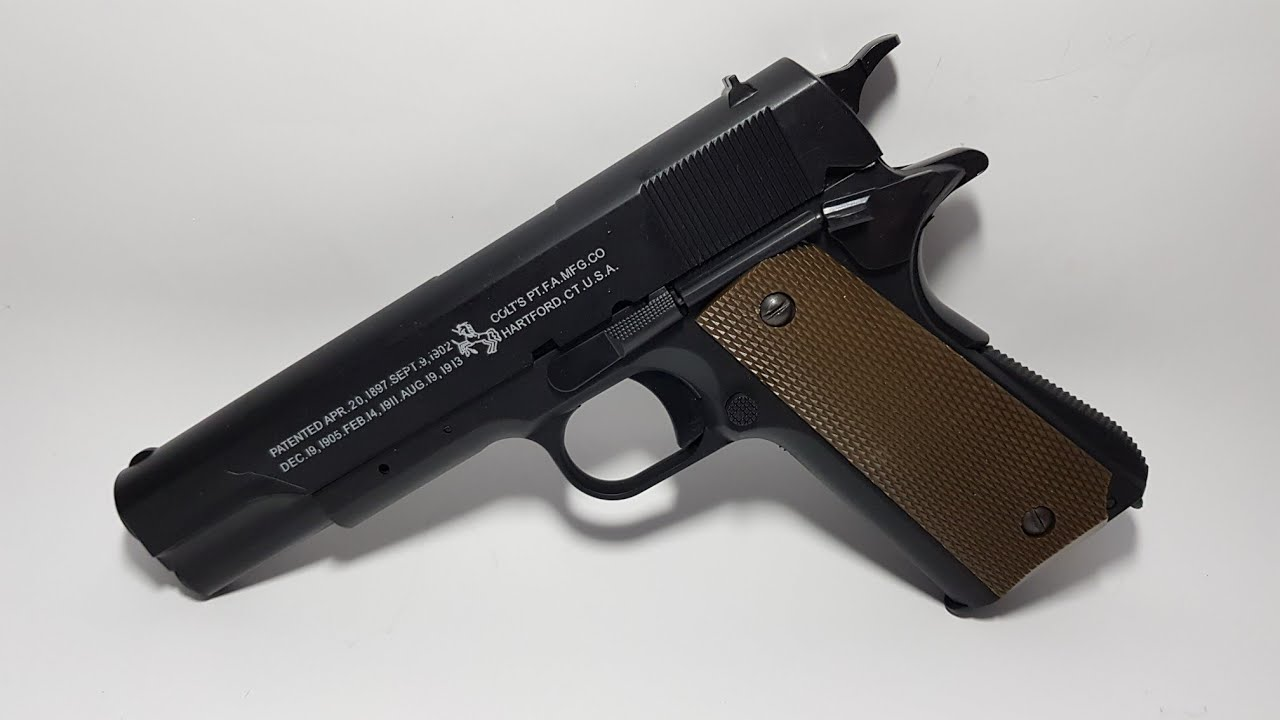 M-1911 gel blaster review