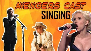 Avengers Cast - Singing Compilation || Feat. Robert Downey Jr., Scarlett Johansson, etc.