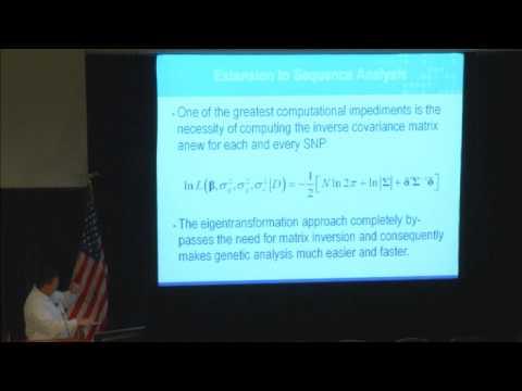UC Irvine International Imaging Genetics Conference - SOLAR Workshop 2014 part 1