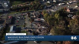 3 JMU students injured in explosion near downtown Harrisonburg