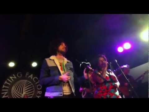 The Moldy Peaches - Lucky Number Nine (Live @ The Knitting Factory 11/13/11)