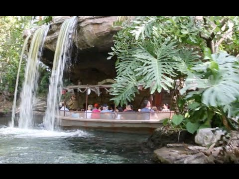 [HD] Jungle Cruise - Queue & Full Ride : (POV) - Disneyland Resort California